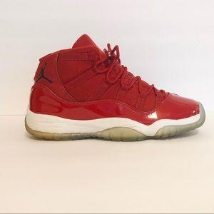 Nike Air Jordan Retro 11 Gym Red Size 6.5Y